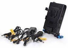 SOONWELL V Lock Mounting Plate Power Supply Splitter with  LP-E6 Battery