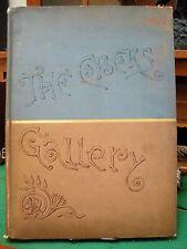 THE EBERS GALLERY Aldine Book Publishing 20 Photo-Etchings Romances Gilt RARE!!!