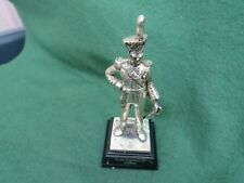 ROYAL HAMPSHIRE PEWTER FIGURE THE ROYAL REGIMENT OF ARTILLERY