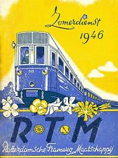 TRAVEL TRANSPORT TRAM ROTTERDAM NETHERLANDS HOLLAND ART POSTER PRINT LV4491