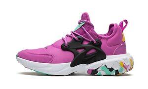 Nike React Presto MC (GS) CD8138-600 Pink Women's Girl's Running Casual Shoes