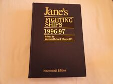 JANE'S FIGHTING SHIPS 1996-97 - Hardcover -  Edited by Captain Richard Sharpe RN