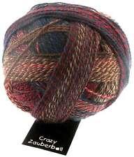 "Crazy Zauberball 100g  Schoppel Farbe 1507 ""Herbstwind"" Wolle Sockenwolle"