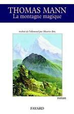 La Montagne magique Mann  Thomas Occasion Livre