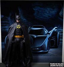 LAST CHANCE~POSTER 89 BATMAN BATMOBILE FOR 1/6 HOT TOYS FIGURE DX09 DX08 DC