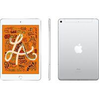 "New Apple iPad Mini 5 Silver 256GB 7.9"" Wifi 4G LTE Cellular Unlocked 5th White"