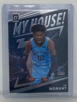 2019-20 Panini Donruss Optic Ja Morant My House Rookie RC Grizzlies # 7