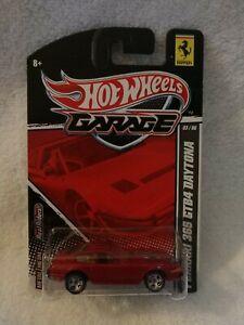 HOT WHEELS GARAGE FERRARI 365 GTB4 DAYTONA RED