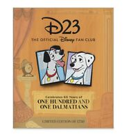 Disney D23 One Hundred and One Dalmatians Limited Edition Of 1,750 Pin Set 2021
