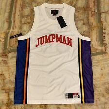 Nwt Mens Nike Air Jordan Ny To La Jumpman Sport Dna Black Logo Jersey Sz: L 23