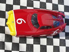 MMK ALFA BAT CAR MMK 70 #6 RED    RESIN LE  1:32 SLOT BNIB