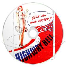 Highway Hell (1941) aka Hitchhike to Hell, Honky Tonk Girl, Drama Movie/Film DVD