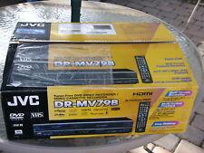 New Jvc Dr-Mv79B Tunerless 1080p Upconverting Dvd Recorder Vcr Combo Vhs Player