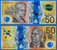 Australia 50 dollars 2018 UNC Prefix AE Polymer Cowan Unaipon Free Shipping Wrld