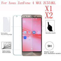 ANTI SCRATCH Tempered Glass Screen Protector Film For Asus ZenFone 4 MAX ZC554KL