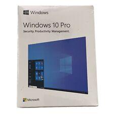 Microsoft Windows 10 Pro Full Retail Version HAV-00059 USB Flash Drive 64 Bit