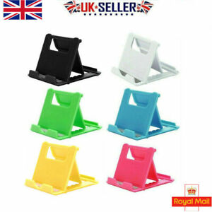 Adjustable Folding Stand Phone Small Tablet Holder Portable Compact Universal UK
