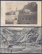 Aden Camp 1940's Quatre Vues Envoie Cartes De Menaka Le Lalami Après Lourd Pluie