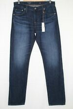 AG Jeans Men's The Graduate Tailored Leg Size 31 X 34 Dark Blue 1174DAY