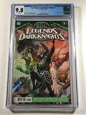 Dark Nights Death Metal Legends of the Dark Knights 1 CGC 9.8 DC LOTDK Batman