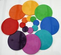 Dishwasher safe place mat & coaster 1+1 Choice from 13 colours  Intech Gecko