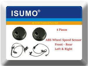 4x ABS Wheel Speed Sensor Front Left/Right Fits:Corolla Matric  Vibe 2003-2008