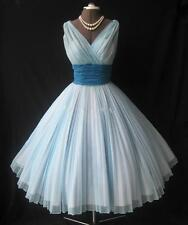 Short Vintage Party Prom Dresses Ball Gown Tea-length Bridesmaid Evening Gowns