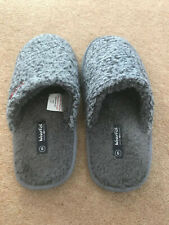 Weird Fish Size 9 cement colour slip-on mens slippers. New