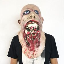 Halloween Scary Bloody Zombie Mask Melting Face Adult Latex Costume Walking Dead
