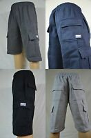NWT Pro Club Heavy Weight Fleece Cargo Shorts Mens Sweatpants Pocket S-7XL