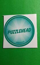 """PUZZLEHEAD PUZZLE BADGE TV GETGLUE GET GLUE SMALL 1.5"""" STICKER"""