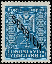 ✔️ SERBIA GERMAN OCCUPATION 1941 - POSTAGE DUE WWII - MI. 5 ** MNH OG [ST1.01.E]