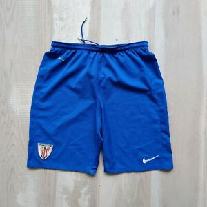 Athletic Bilbao Atletic Club Football Short Blue Nike Polyester Size Young XL