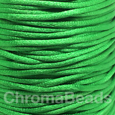 Hoochie Cord 500 mt x 2 mm Roll Army Green Australian Made Military Survival