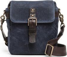 ONA - The Bond Street Camera Messenger Bag, Oxford Blue Waxed Canvas