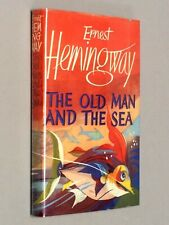 OLD MAN and The SEA - Ernest Hemingway (1952 1st UK Edition) VG with dust jacket