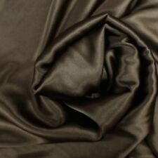 Brown Crepe Back Satin Bridal Fabric 50 yards Wholesale for Dress Drapery
