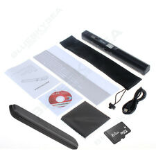 Portable HandHeld Wireless HD Mini Scanner A4 JPG PDF 900DPI iScan+8GB+Hard Case
