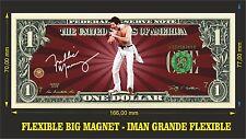 Freddie Mercury A Queen IMAN BILLETE 1 DOLLAR BILL MAGNET