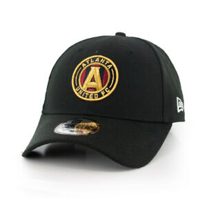 "New Era 940 Atlanta United FC ""The League"" Strapback Hat (Black) Men's MLS Cap"