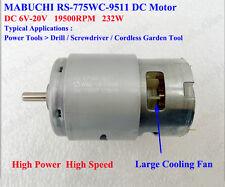 MABUCHI RS-775WC-9511 DC 12V 18V 19500RPM Drill&Screwdriver / Garden Tools Motor