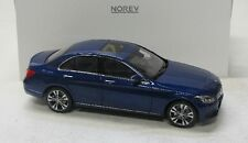 Mercedes Benz C-Klasse ( 2014 ) blau met. / Norev 1:18