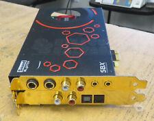 Creative Sound Blaster SBX ProStudio PCIe x1 Sound Card SB1510 SB1510A