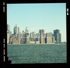 1980s Stock Exchange Manhattan NYC New York City Old Photo Negative H86