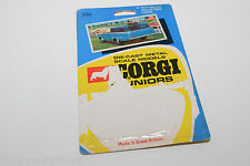 CORGI TOYS JUNIORS 15 WAGONAIRE T.V. TV CAR ORIGINAL CARD RARE SELTEN!