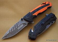 TAC-FORCE SPRING ASSISTED TACTICAL KNIFE **RAZOR SHARP** BLADE WITH POCKET CLIP