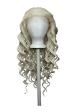 26'' Spiral Curly Lace Front Wig with 1'' lace no Bangs Platinum Blond Wig NEW