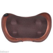 Electronic Massage Pillow Massager Cushion Relax Neck Back Shoulder Legs For Car