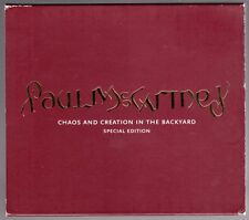 "Beatles (Paul) ""Chaos & Creation"" 2005 US Special Edition 2 Disc CD/DVD Set"