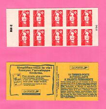 FRANCE CARNET BRIAT - YT 2874-C6 -RGR-2-TVP (type1)  Essayez l'enveloppe timbrée